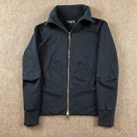 RLX Ralph Lauren Womens Long Sleeve Full Zip Collared Jacket Black Size Medium