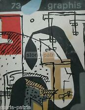 ARTE_GRAFICA_PUBBLICITA'_GRAPHIS_BRUNO CARUSO_COMTE_TRADE MARK_LE CORBUSIER_1957