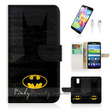 Batman Mobile Phone Wallet Cases for Samsung