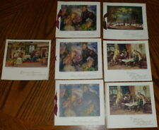 Vintage Christmas cards x 7 Sharpe's Classic