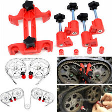 Auto Dual Cam Clamp Camshaft Engine Timing Locking Tool Sprocket Gear Fixed Kit