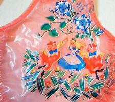 Disney Classics Alice In Wonderland vintage plastic girl & doll apron set