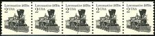 Locomotive Reprint Untagged Dull Gum MNH PNC5 PL 2 Scott 2226A