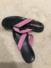 Prada Womens Flip Flops Size 39/US 8-9