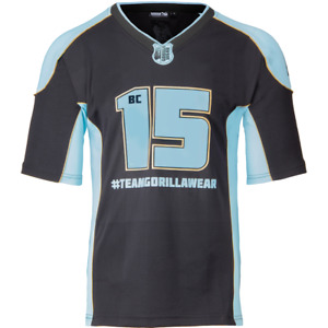 Gorilla Wear Athlete T-shirt 2.0 Brandon Curry - Black/light Blue