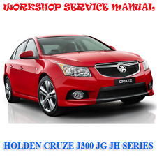 HOLDEN CRUZE J300 JG JH SERIES 2010-16 WORKSHOP SERVICE MANUAL (DIGITAL e-COPY)