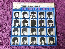 """The Beatles – Que Noche La De Aquel Dia Vinyl 7"""" EP 1964 Spain DSOE 16.618"""