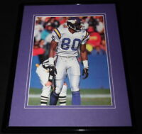 Cris Carter 1992 Framed 11x14 Photo Display Vikings
