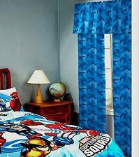 Marvel Super Hero Squad Window Curtain Panels Factory Sealed 2009