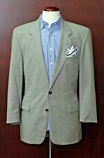 Hugo Boss Men's Gray Wicker Weave Wool Blazer Sport Coat 38R 38 Regular