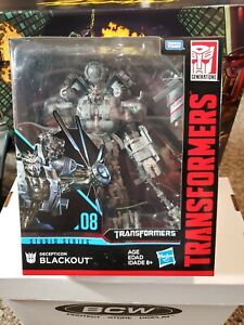 Transformers Studio Series Blackout Leader Class Sealed New in box