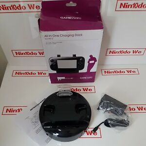 All-in-one Dating Dock For Nintendo Wii U Gamepad/Pro Controller /Remotes