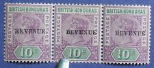 1899 BR HONDURAS 10c Scott# 49a S.G.# 67a UNUSED ERROR CS01230