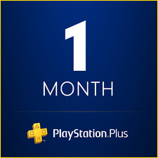 PSN 1 Month PlayStation PS Plus PS4-PS3 -Vita ( NO CODE )
