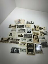 Vintage Antique Photos Rppc Real Photo Postcards Paper Ephemera Lot