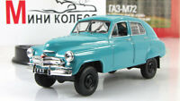 Gaz-M-72 Volga USSR Soviet Auto Legends Diecast Model DeAgostini 1:43 #95