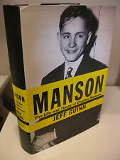 MANSON The Life and Times of Charles Manson 1st Edition/1st Printing Jeff Guinn
