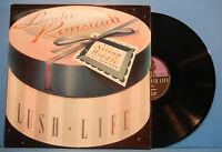 LINDA RONSTADT LUSH LIFE VINYL LP 1984 ORIGINAL PRESS GREAT COND! VG++/VG!!B