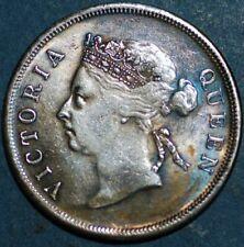 Straits Settlements Victoria era 50 cents 1889 G+054