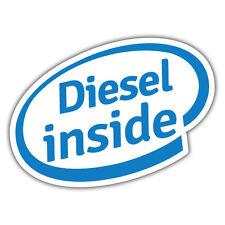 Diesel dentro de la etiqueta engomada 112 X 86 Señor oilcan exclusiva de la etiqueta engomada