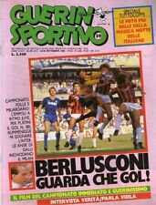 GUERIN SPORTIVO=N°39 1986=NANTES-TORINO 0-4