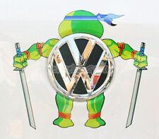 Teenage Mutant Ninja Turtles LEO Reflective Car Sticker Decal Fit VW Toyota etc