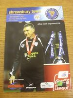 25/07/2009 Shrewsbury Town v Leicester City [Friendly] . Thanks for viewing our