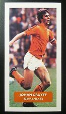 NETHERLANDS - BARCELONA - JOHAN CRUYFF - Score UK football trade card