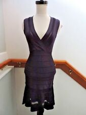 NWT FRENCH CONNECTION NAVY BLUE BANDAGE CROCHET SEXY FITTED DRESS 4