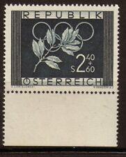 Autriche 1952 N°808 2s40 + 60g Bleu noir N**. P115 P115