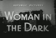 WOMAN IN THE DARK (1952) DVD PENNY EDWARDS, ROSS ELLIOTT