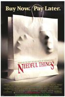 NEEDFUL THINGS MOVIE POSTER Original Rolled 27x40 MINT! STEPHEN KING Horror 1993
