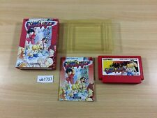 ub1737 Mighty Final Fight BOXED NES Famicom Japan