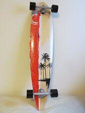 "9-Ply Professional Complete Skateboard Maple Wood Fish Shape Long Board 41"""