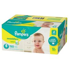 Procter & Gamble SG_B07DC8BR3B_US Pampers Swaddlers Diapers, Size 4, 150 Count