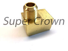 Elbow Pipe Brass Adapter Coupler Connector Female-Male(M16*1.5 x PT1/4) Ф10mm