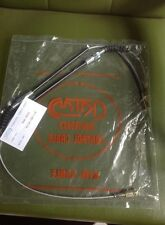 MAZDA 1200 Familia REAR HAND BRAKE 2 CABLES WIRE NEW