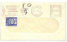 EE248 1961 SWITZERLAND POSTAGE DUE GB Mail Meter Slogan Publishing London Cover