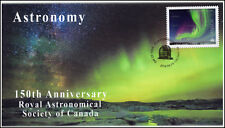 Ca18-028, 2018, Astronomy, Pictorial, First Day Cover, Aurora Borealis,