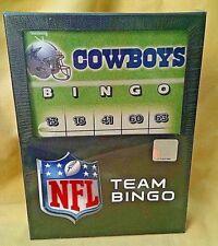 DALLAS COWBOYS GAME TEAM BINGO NEW SEALED 2009 NFL FOOTBALL RICO TAG BNG1801*