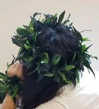 Lot of 10 HAWAIIAN UNISEX SILK HEAD LEI LUAU HULA - Wedding, Graduation