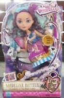 "EVER AFTER HIGH WAY TO WONDERLAND MADELINE HATTER 17"" DOLL BY MATTEL *BNIB*"