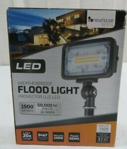 Newhouse Lighting 16-Watt LED Weatherproof Flood Light 1500 Lumens