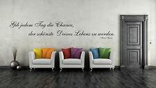 Wandtattoo Mark Twain 60 cm Wandaufkleber Sticker Spruch Zitat Deko Aufkleber
