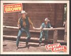 Silver Range Lobby Card Color 11X14 Johnny Mack Brown Raymond Hatton