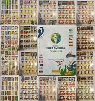 **NEW - SOFTCOVER ALBUM+COMPLETE SET OF 400 STICKERS. COPA AMERICA BRASIL 2019