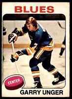 1975-76 O-Pee-Chee Garry Unger #40