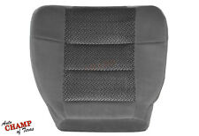 2003 Ford F150 XLT Extended-X-Cab -Driver Side Bottom Cloth Seat Cover Dark Gray