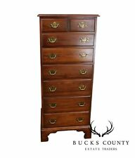 Henkel Harris Solid Cherry Chippendale Style Lingerie Chest