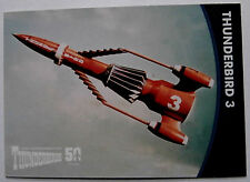 THUNDERBIRDS 50 YEARS - Card #38 - Gerry Anderson - Unstoppable Cards Ltd 2015